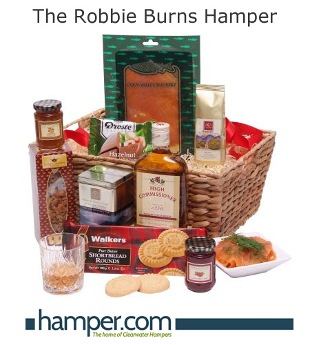 Robbie Burns Night hampers