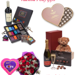 Valentine's Day Gift Hampers Chocolate and Flowers