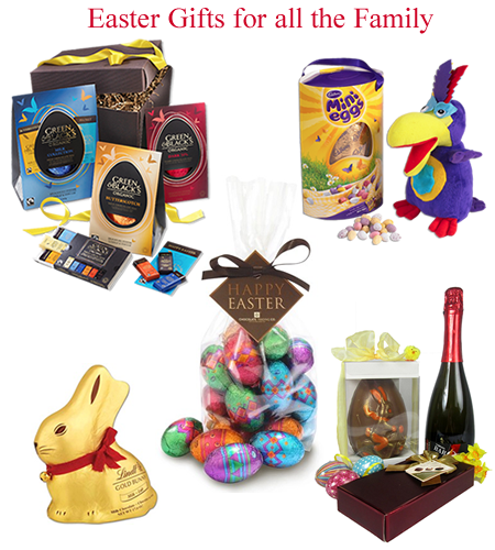 easter hampers and gifts