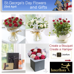 St George's Day Hamper Gifts and Flowers