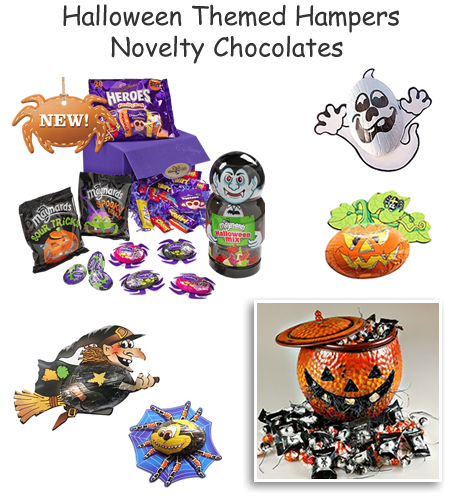 Halloween hampers spooky chocolate gifts scary sweets