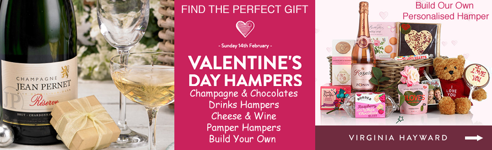 Luxury valentines day hamper gifts