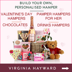 Virginia Hayward Valentine's Gifts and Hampers
