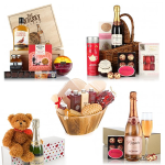 Valentine's Day Hampers and Pamper Gifts