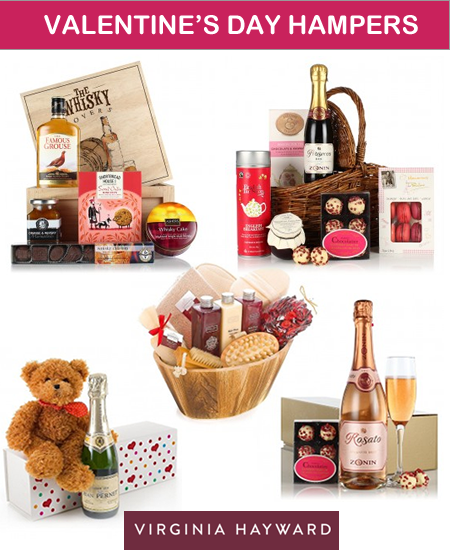 Valentine's Day gifts and pamper hampers