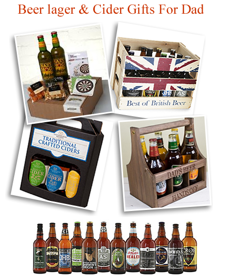 Real ale hampers for Father's Day beer hamper gifts