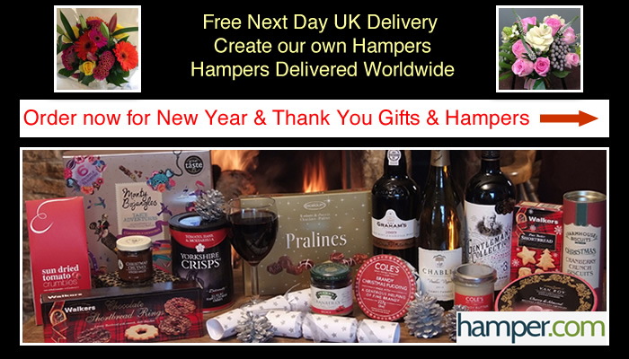 New Year Hampers Thank You Flowers & Hamper Gifts International Delivery