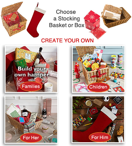 Create your own festive hamper diy gift personalised john lewis hampers christmas gifts build your own solutioingenieria