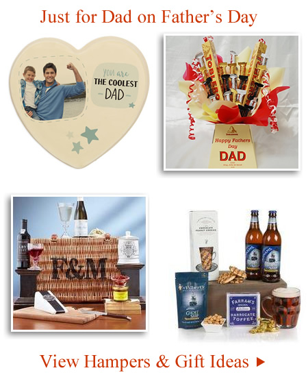 Father's Day Engraved Gifts under £20 Beer Hampers for Dad