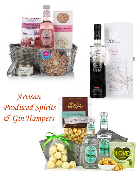 Pink Gin Gifts Miniature Bottles Gin and Tonic Hampers and Flavoured Gins