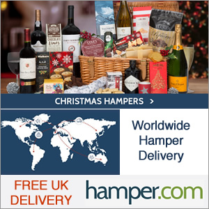 Christmas Hampers worldwide delivery