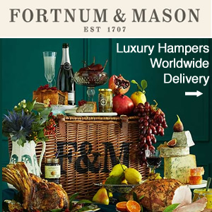 Fortnum & Mason Christmas Hampers worldwide delivery