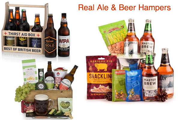 Beer Hampers Real Ale Bitters and Lager Gift Box