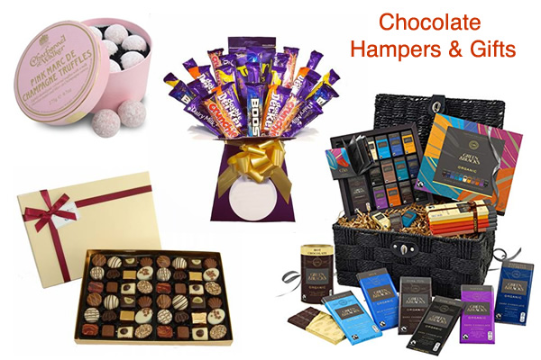 Chocolate Hamper Baskets Truffles Gift Box