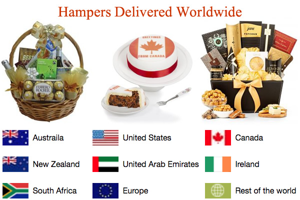 Hampers Delivered Worldwide International Hamper Delivery Service