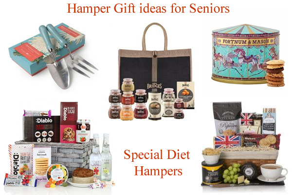 Hampers for the Elderly Pensioners & Retirement Gifts | Diabetic Gluten Free Vegan Vegetarian Hampers