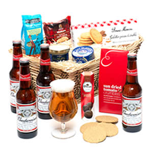 Lager Beer and Ale Hamper Basket