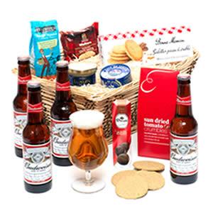 Lager Beer and Ale Hamper Basket Christmas Beer gifts