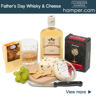 Whisky and Cheese Hamper Gift