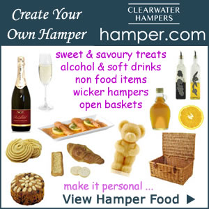 DIY create your own food drink hampers