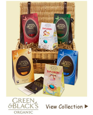 Organic Fairtrade Chocolates and Thick Shelled Easter Eggs