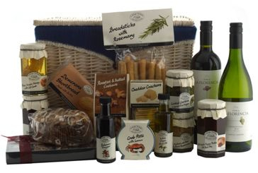Christmas Hampers with Wine