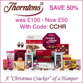 Thorntons Christmas Hampers