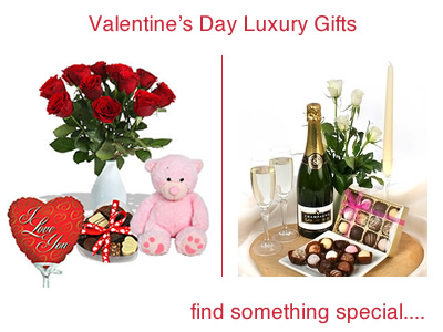 Valentines Day Flowers and Gifts