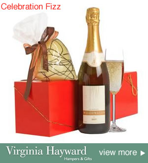 champagne and Chocolate Gift Hamper Box